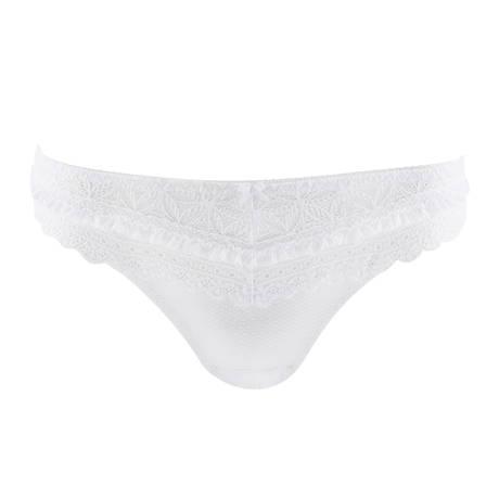AUBADE Slip italien L'Odalisque Blanc