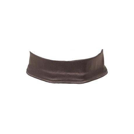 LES JUPONS DE TESS Collier ras de cou chocker Vendôme Blush Chocolat