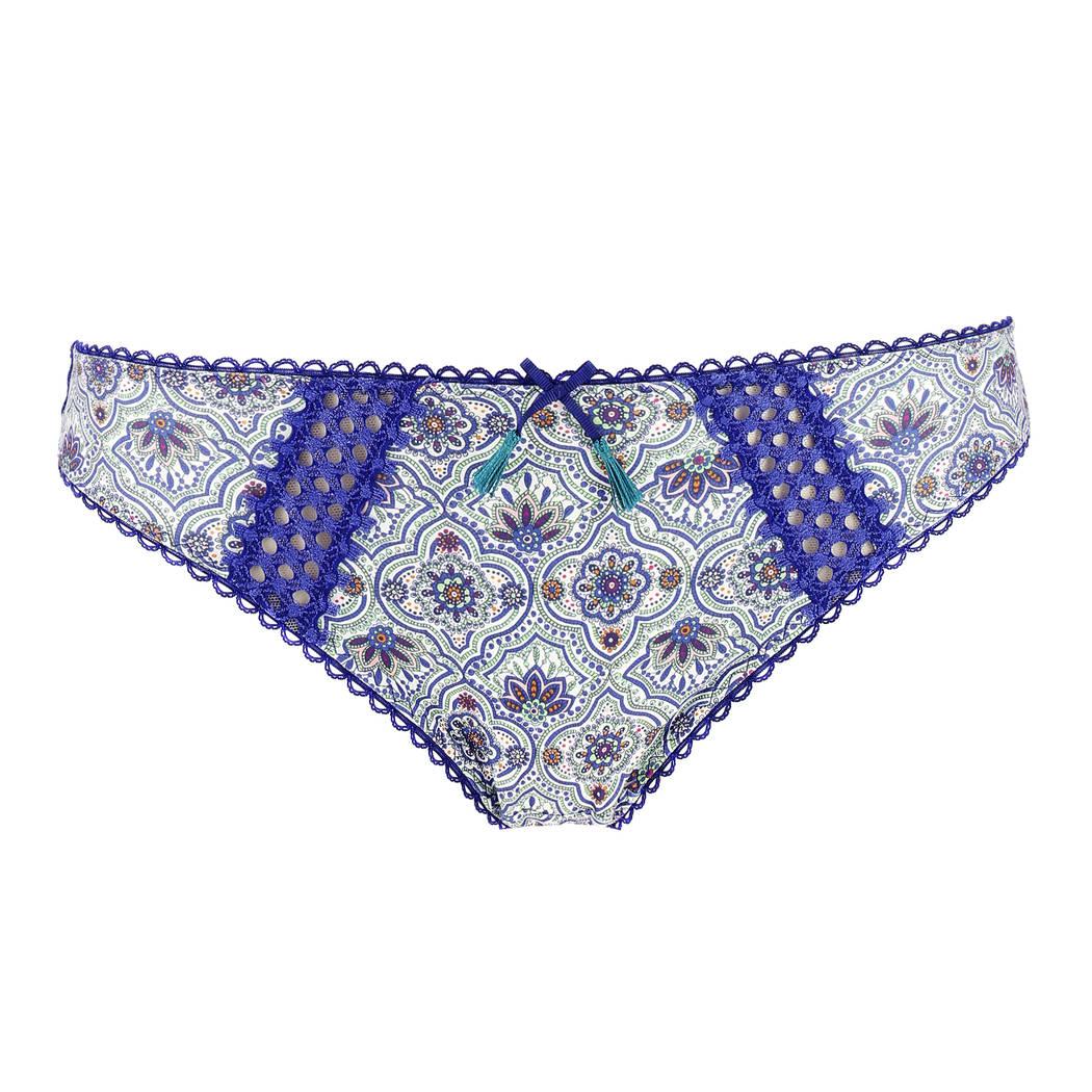 AUBADE Slip italien Ombre Persane Azulejos