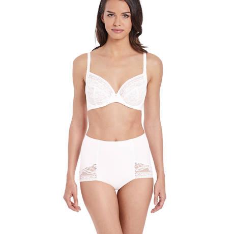 WACOAL Culotte haute galbante Eternal White Jasmine