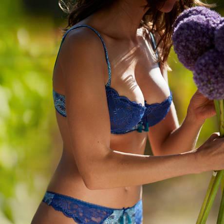 AUBADE Soutien-gorge corbeille Ombre Persane Azulejos