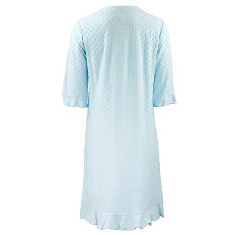 CANAT Robe de chambre Dotty12 Aqua