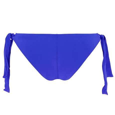 ANTIGEL Maillot de bain tanga lacets La Santa Antigel Santa Bleu