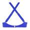 ANTIGEL Maillot de bain coques light bonnets profonds La Santa Antigel Santa Bleu