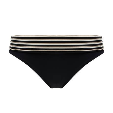 CHANTELLE Maillot de bain culotte haute Marina Noir/Ecru