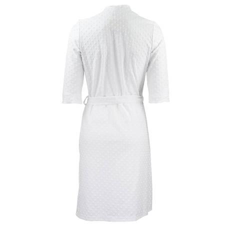 CANAT Peignoir Dotty1 Blanc