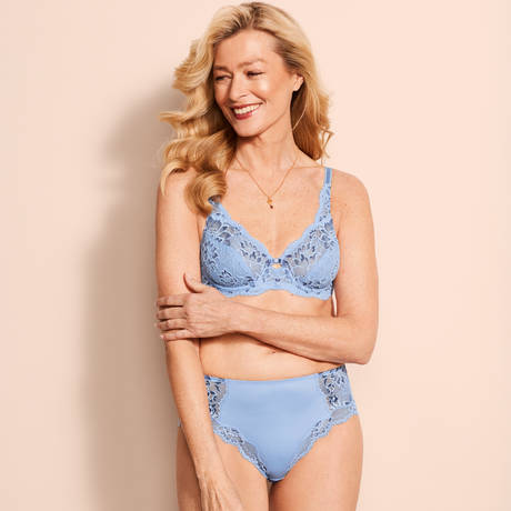 TRIUMPH Culotte Amourette Charm Bleu Dragée