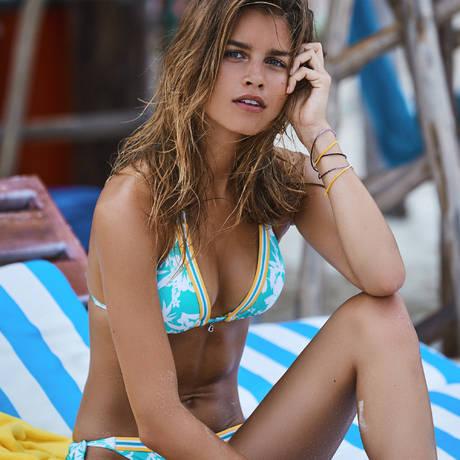 BANANA MOON Maillot de bain slip lacets Tenango Caraïbes