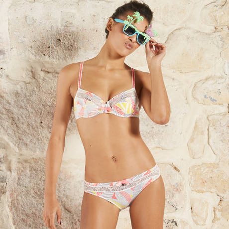 BARBARA Soutien-gorge armatures Jungle Mangue