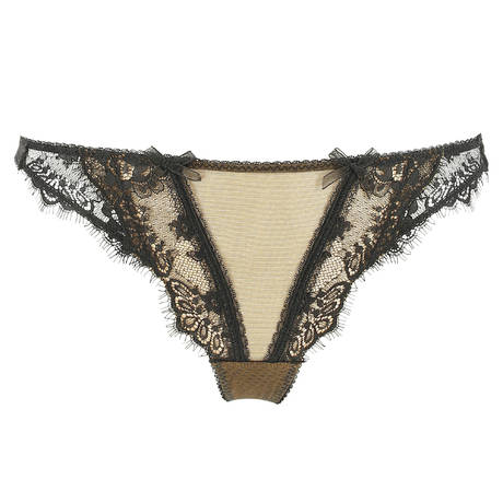 DITA VON TEESE String Savoir Faire Sheer Black/Copper