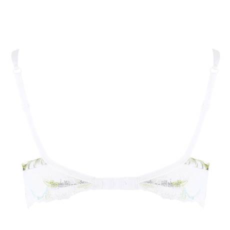 LISE CHARMEL Soutien-gorge coques amovibles Aura Tropical Blanc Exotique