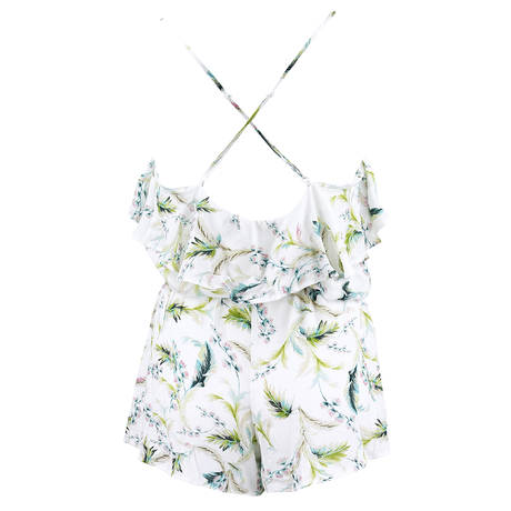 LISE CHARMEL Teddy Aura Tropical Blanc Exotique