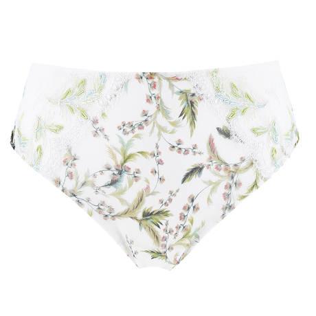 LISE CHARMEL Culotte haute Aura Tropical Blanc Exotique