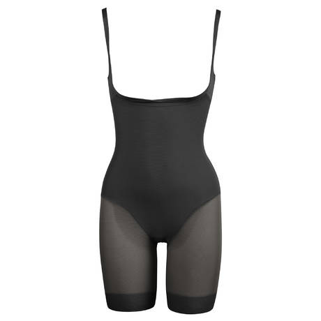 MIRACLESUIT Combinaison panty gainante Sexy Sheer Shaping Noir