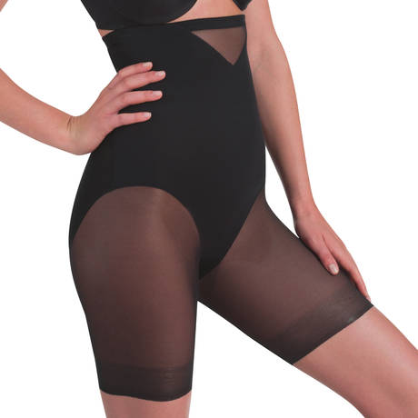 MIRACLESUIT Panty Gainant taille haute Sexy Sheer Shaping Noir