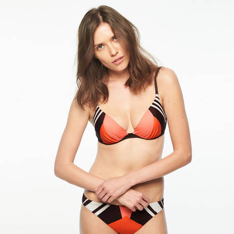 CHANTELLE Maillot de bain push-up Palma Graphic Coffee
