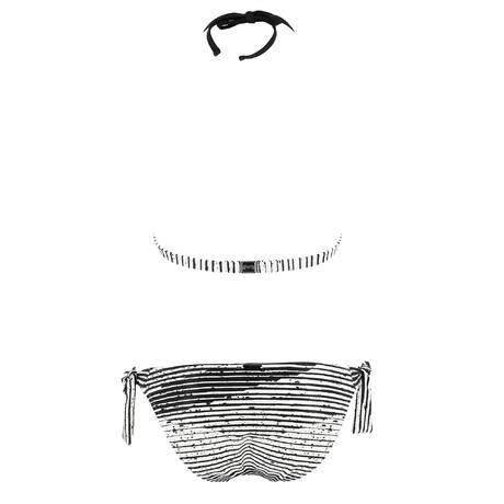 MARYAN MEHLHORN Maillot de bain 2 pièces Chintz Noir/Blanc