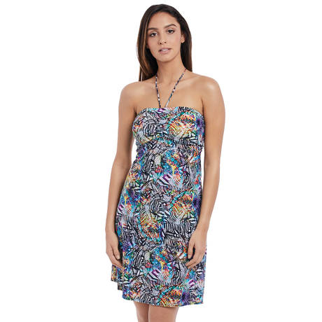 FREYA Robe de plage Hot In Havana Multicolore