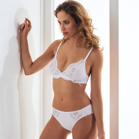 MILLESIA Slip Angelique Blanc