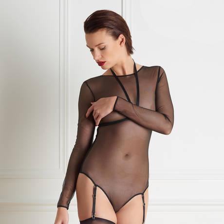 MAISON CLOSE Body string harnais amovible Liaison Fatale Noir