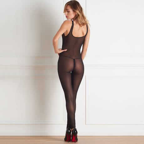 MAISON CLOSE Combinaison Pure Tentation Noir