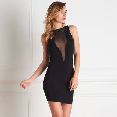 MAISON CLOSE Robe Pure Tentation Noir