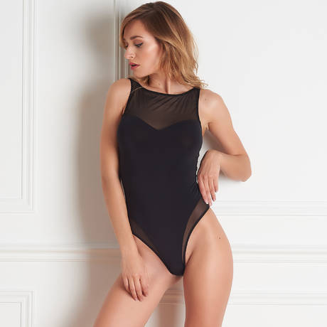 MAISON CLOSE Body string Pure Tentation Noir
