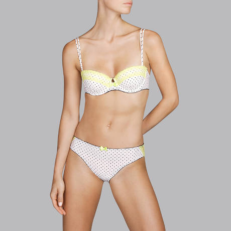ANDRES SARDA Soutien-gorge balconnet rembourré Richmond Naturel