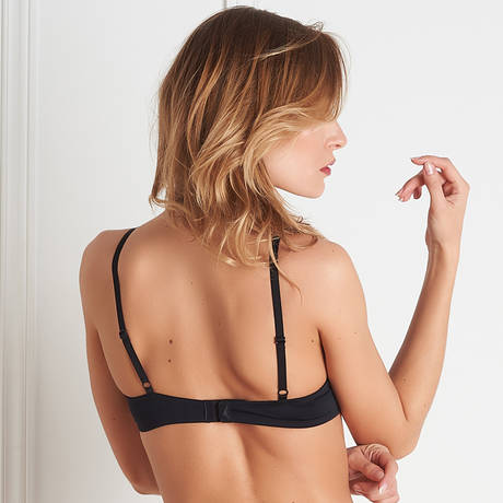 MAISON CLOSE Soutien-gorge push-up Pure Tentation Noir