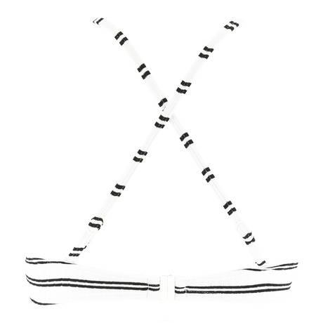 SEAFOLLY Maillot de bain coques Inka Stripe Blanc