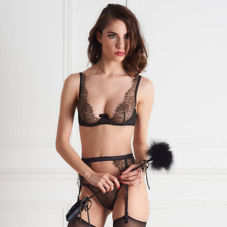 MAISON CLOSE Double plumeau Les Burlesques
