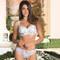 EPRISE DE LISE CHARMEL Slip fantaisie Aura India Blanc Exotique