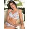 EPRISE DE LISE CHARMEL Soutien-gorge armature bien-être Aura India Blanc Exotique
