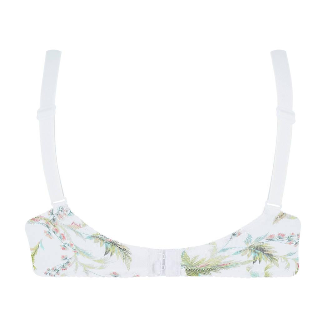 EPRISE DE LISE CHARMEL Soutien-gorge corbeille fitting Aura India Blanc Exotique