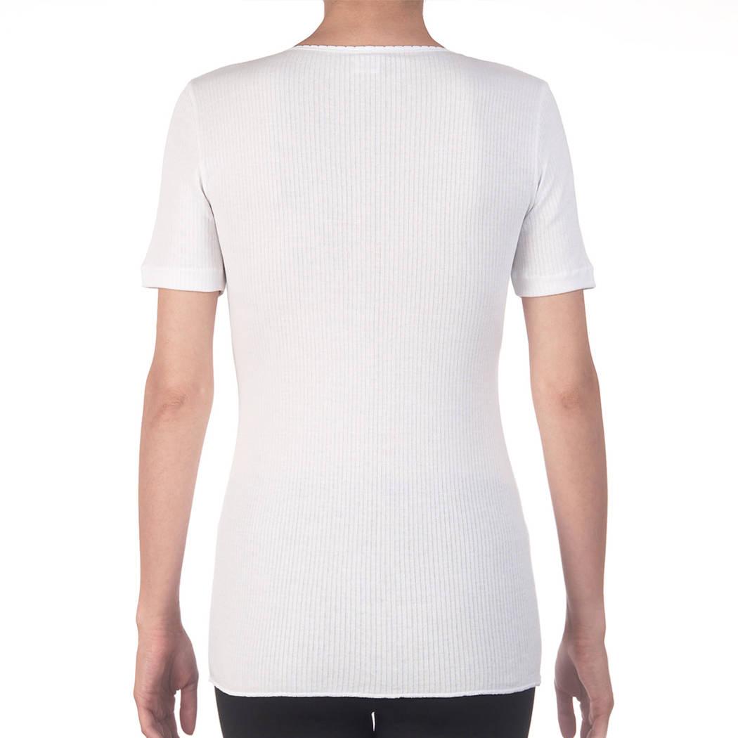 OSCALITO Top manches courtes Blanc