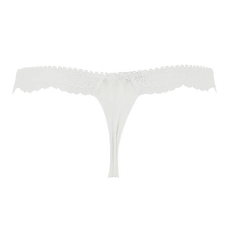 LISE CHARMEL String sexy Charme Estival Blanc