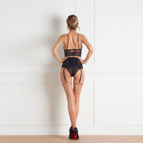 MAISON CLOSE Bas couture 20 deniers Les Coquetteries