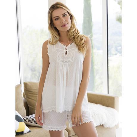 CANAT Pyjama Nina24 Blanc