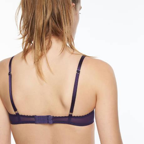 PASSIONATA Soutien-gorge push-up White Nights Violet/Bleu