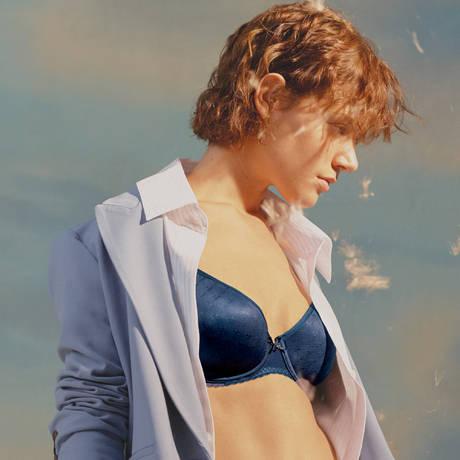 CHANTELLE Soutien-gorge spacer Courcelles Bleu Indigo