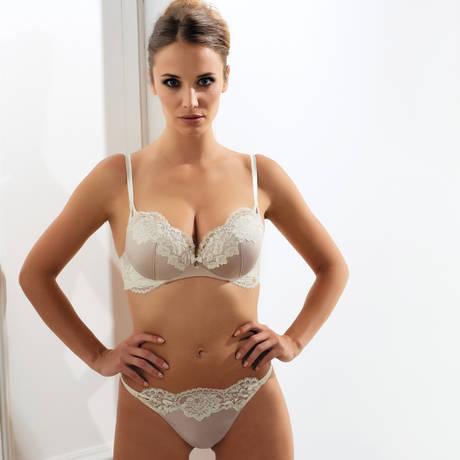 MILLESIA Soutien-gorge push-up Adriana Sable Nacre