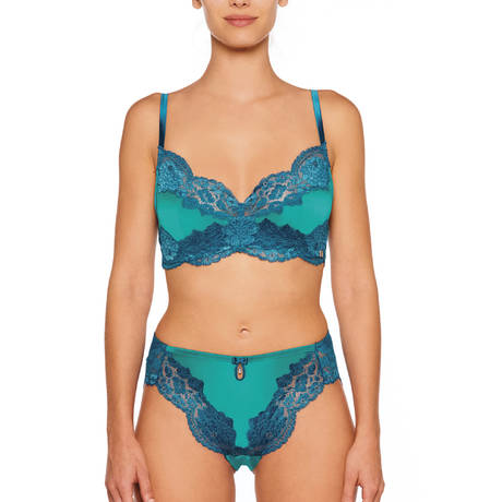 MILLESIA Culotte haute Adriana Bleu Turquoise