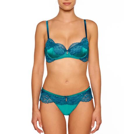 MILLESIA Slip Adriana Bleu Turquoise