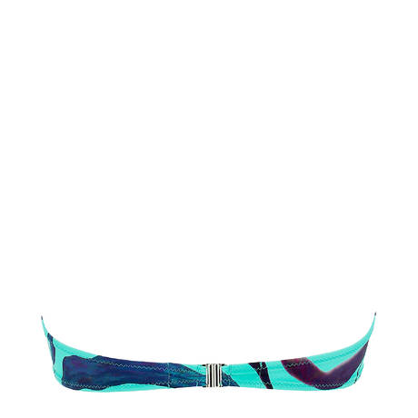 ANTIGEL Maillot de bain bandeau coques L'Antigelwood Feuille Bleu