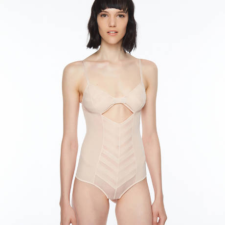 CHANTAL THOMASS Body string Influente beige Doré