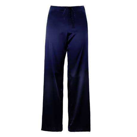 LISE CHARMEL Pantalon en soie Forêt Lumière Bleu pétrole