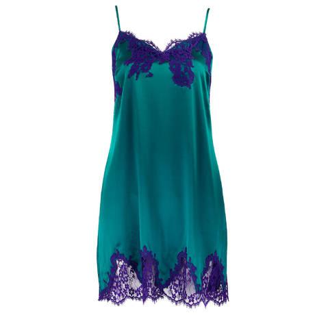 LISE CHARMEL Nuisette en soie Splendeur Soie Splendeur Turquoise