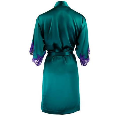 LISE CHARMEL Déshabillé en soie Splendeur Soie Splendeur Turquoise