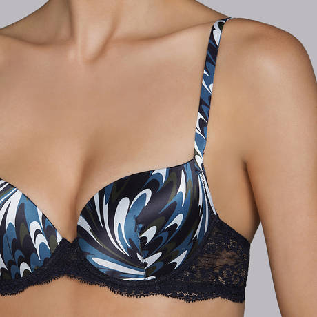 ANDRES SARDA Soutien-gorge push-up Gstaad Night Blue