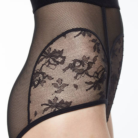 CHANTAL THOMASS Culotte haute Intrigante Noir